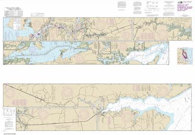 12206 - Intracoastal Waterway Norfolk to Albemarle Sound via North Landing River or Great Dismal Swamp Canal
