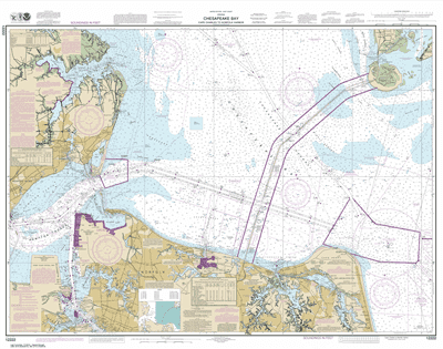 12222 - Chesapeake Bay Cape Charles to Norfolk Harbor