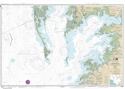 12228 - Chesapeake Bay Pocomoke and Tangier Sounds