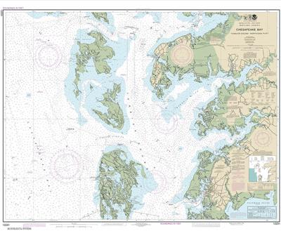 12231 - Chesapeake Bay Tangier Sound Northern Part
