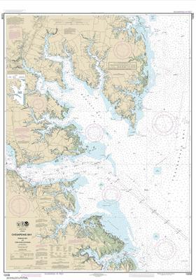 12238 - Chesapeake Bay Mobjack Bay and York River Entrance