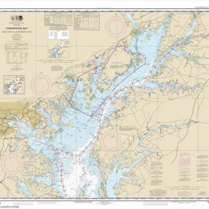 12273 - Chesapeake Bay Sandy Point to Susquehanna River