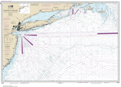 12300 - Approaches to New York, Nantucket Shoals to Five Fathom Bank