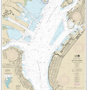12334 - New York Harbor Upper Bay and Narrows-Anchorage Chart