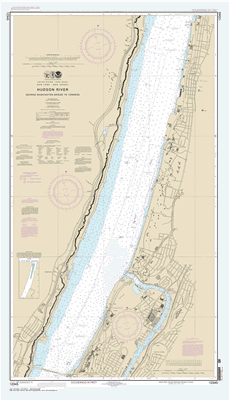 12345 - Hudson River George Washington Bridge to Yonkers