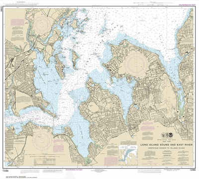 12366 - Long Island Sound and East River Hempstead Harbor to Tallman Island
