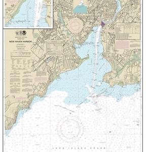 12371 - New Haven Harbor;New Haven Harbor (Inset)