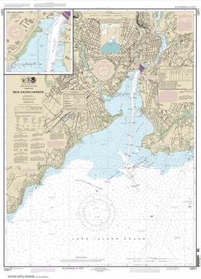 12371 - New Haven Harbor;New Haven Harbor (Inset)