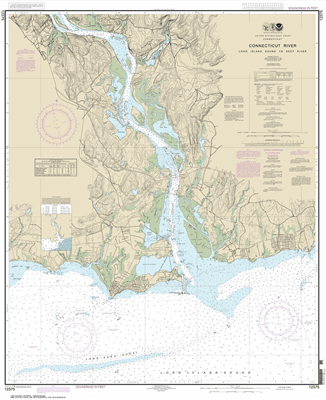 12375 - Connecticut River Long lsland Sound to Deep River