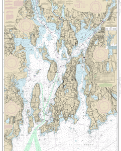 13221 - Narragansett Bay - 2 Charts