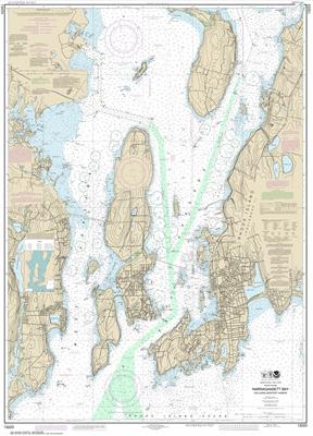 13223 - Narragansett Bay, Including Newport Harbor