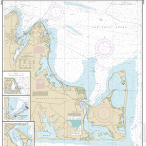 13238 - Martha's Vineyard Eastern Part; Oak Bluffs Harbor; Vineyard Haven Harbor; Edgartown Harbor