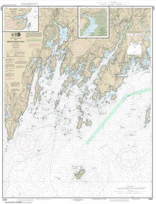 13301 - Muscongus Bay; New Harbor; Thomaston