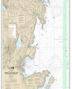 13307 - Camden, Rockport and Rockland Harbors