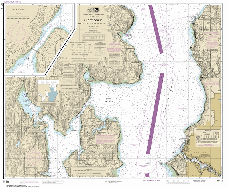 18446 - Puget Sound-Apple Cove Point to Keyport; Agate Passage