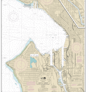 18450 - Seattle Harbor, Elliott Bay and Duwamish Waterway