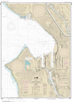 18450 - Seattle Harbor, Elliott Bay and Duwamish Waterway