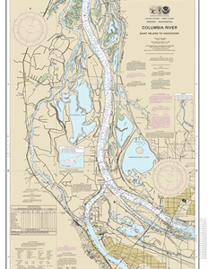 18525 - Columbia River Saint Helens to Vancouver