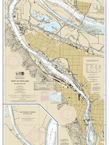 18526 - Port of Portland, Including Vancouver; Multnomah Channel-southern part