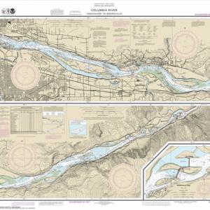 18531 - Columbia River Vancouver to Bonneville; Bonneville Dam