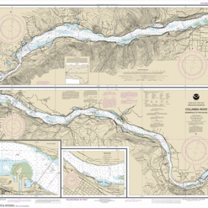 18532 - Columbia River Bonneville To The Dalles; The Dalles; Hood River