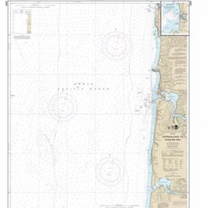 18561 - Approaches to Yaquina Bay; Depoe Bay