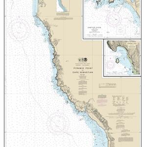 18602 - Pyramid Point to Cape Sebastian; Chetco Cove; Hunters Cove