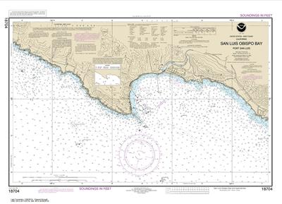 18704 - San Luis Obispo Bay, Port San Luis