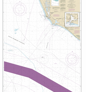 18724 - Port Hueneme And Approaches; Port Hueneme