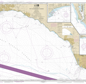 18725 - Port Hueneme to Santa Barbara; Santa Barbara; Channel Islands Harbor and Port Hueneme; Ventura