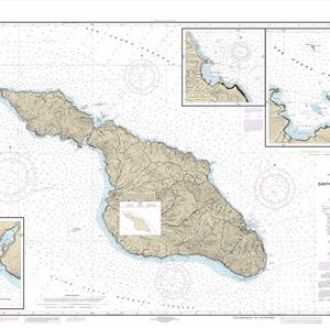 18757 - Santa Catalina Island; Avalon Bay; Catalina Harbor; Isthmus Cove