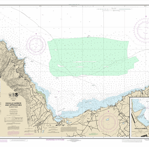 19342 - Kahului Harbor and approaches; Kahului Harbor