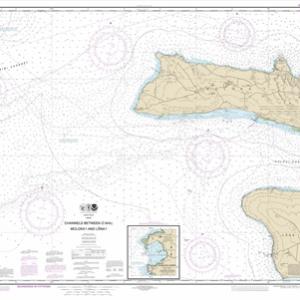 19351 - Channels between O'ahu, Moloka'i and Läna'i; Kaumalapa'u Harbor