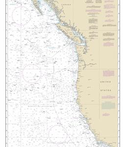 501 - North Pacific Ocean West Coast Of North America Mexican Border To Dixon Entrance