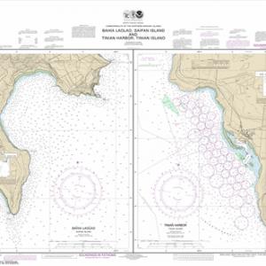 81071 - Commonwealth of the Northern Mariana Islands Bahia Laolao, Saipan Island and Tinian Harbor, Tinian Island