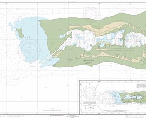 83157 - Palmyra Atoll; Approaches to Palmyra Atoll