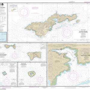 83484 - U.S. Possessions in Samoa Islands; Manua Islands; Pago Pago Harbor; Tutuila Island; Rose Atoll; Swains Island