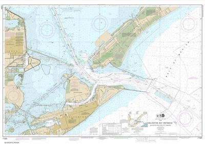 11324 - Galveston Bay Entrance Galveston and Texas City Harbors