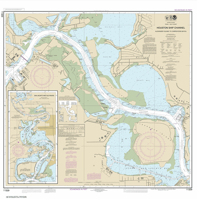 11329 - Houston Ship Channel Alexander Island to Carpenters Bayou; San Jacinto and Old Rivers