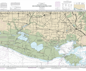 11345 - Intracoastal Waterway New Orleans to Calcasieu River West Section