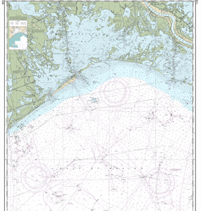 11358 - Barataria Bay and approaches