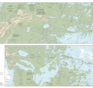 11365 - Barataria and Bayou Lafourche Waterways Intracoastal Waterway to Gulf of Mexico