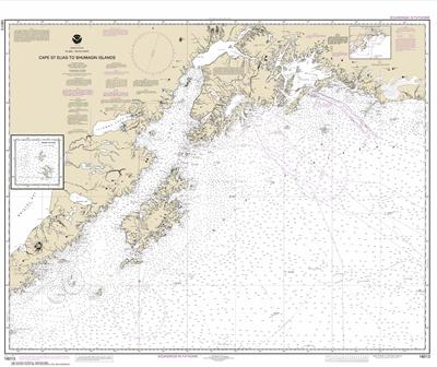 16013 - Cape St. Elias to Shumagin Islands; Semidi Islands