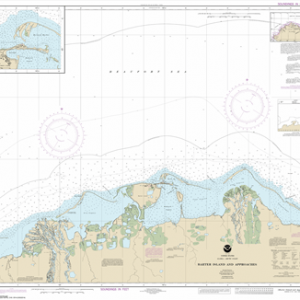 16043 - Barter Island and approaches; Bernard Harbor