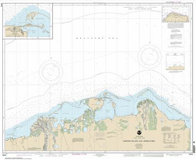 16043 - Barter Island and approaches; Bernard Harbor