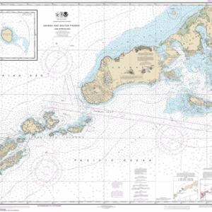 16520 - Unimak and Akutan Passes and approaches; Amak Island