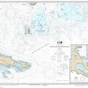 16547 - Sanak Island and Sandman Reefs; Northeast Harbor; Peterson and Salmon Bays; Sanak Harbor