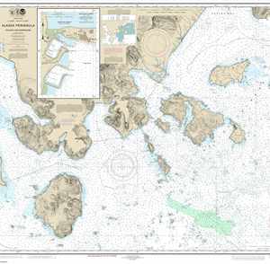 16549 - Cold Bay and approaches, Alaska Pen.; King