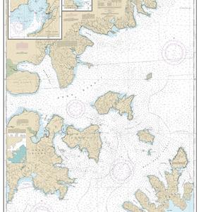 16553 - Shumagin Islands-Nagai Island to Unga Island; Delarof Harbor; Popof Strait, northern part
