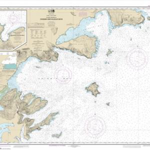 16566 - Chignik and Kujulik Bays, Alaska Pen.; Anchorage and Mud Bays, Chignik Bay